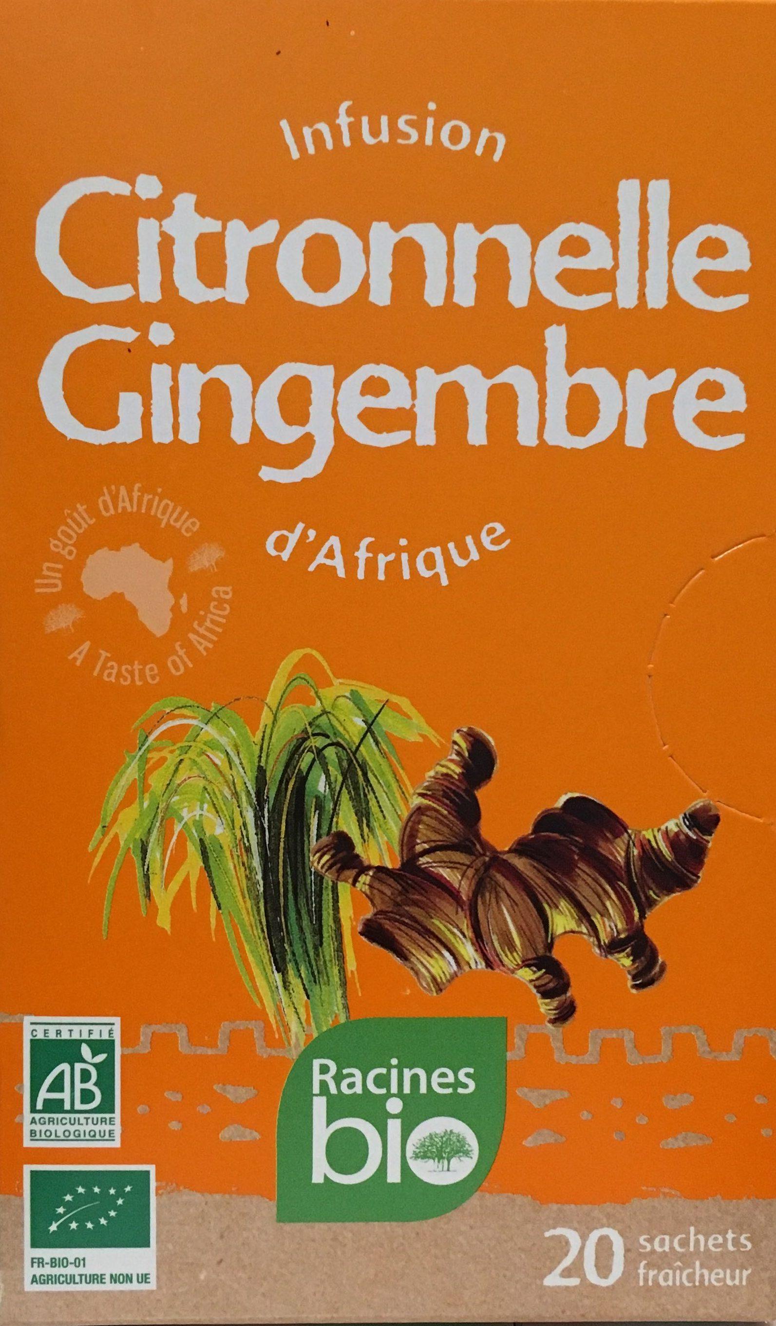 Citronnelle Gingembre - Produit - fr