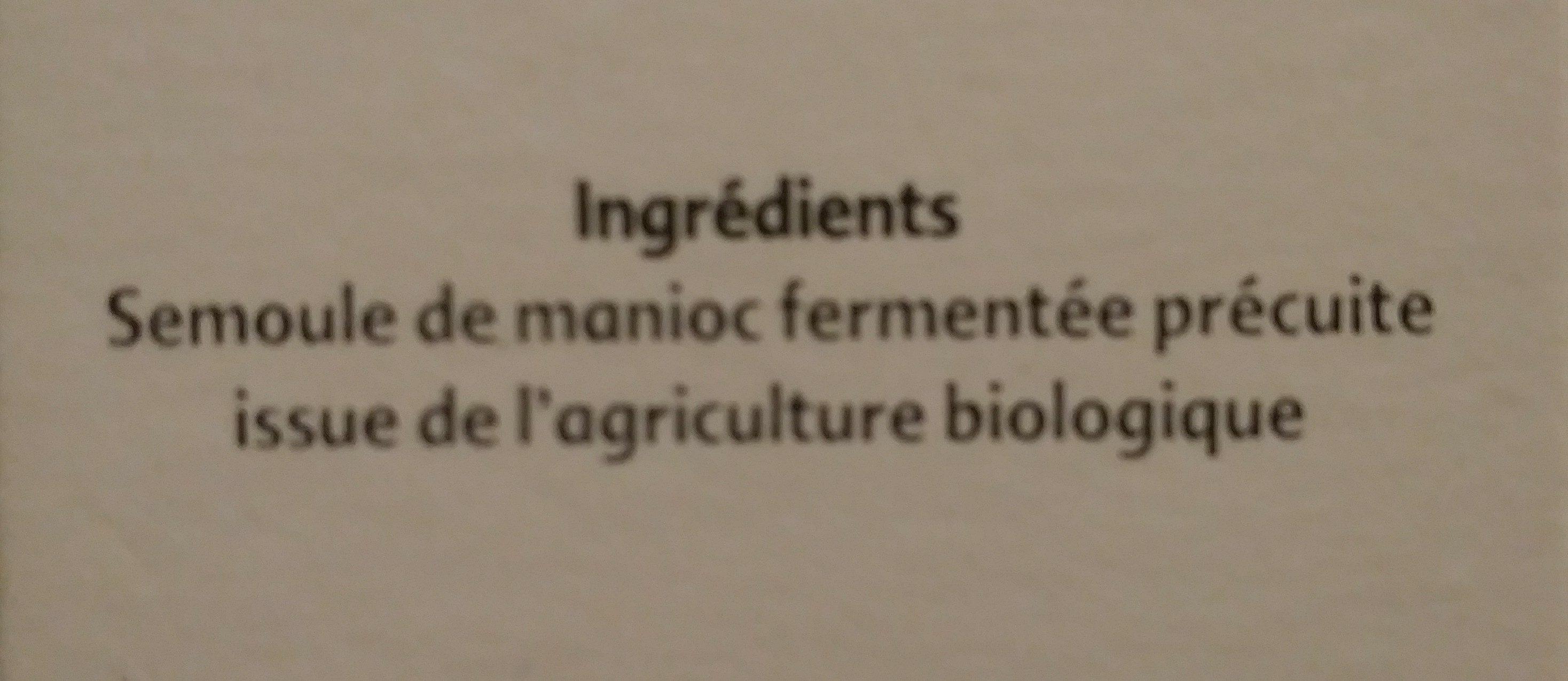 Semoule de Manioc - Ingrédients - fr