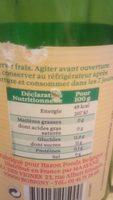 Limonade - Voedigswaarden
