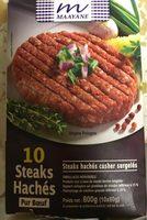 10 Steaks Hachés Pur Bœuf - Produit