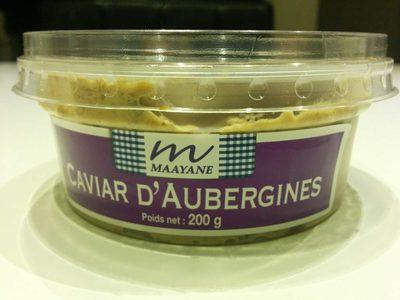 Caviar d'aubergine - Product - fr