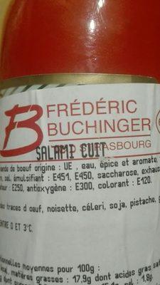 Salami Cuit - Ingrédients - fr