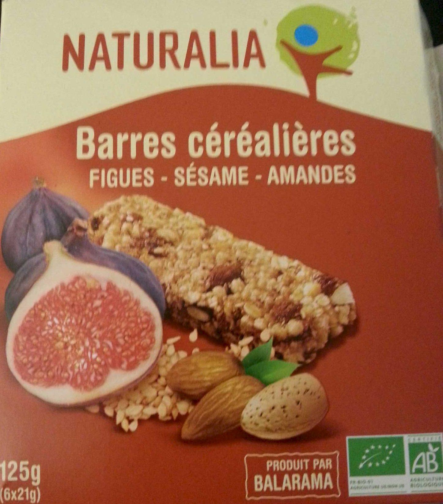 Barre céréalières - FIGUES - SESAME - AMANDES - Product - fr
