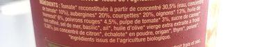 Ratatouille Kilo - Ingrédients