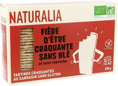 Tartines craquantes au sarrasin - Produit - fr