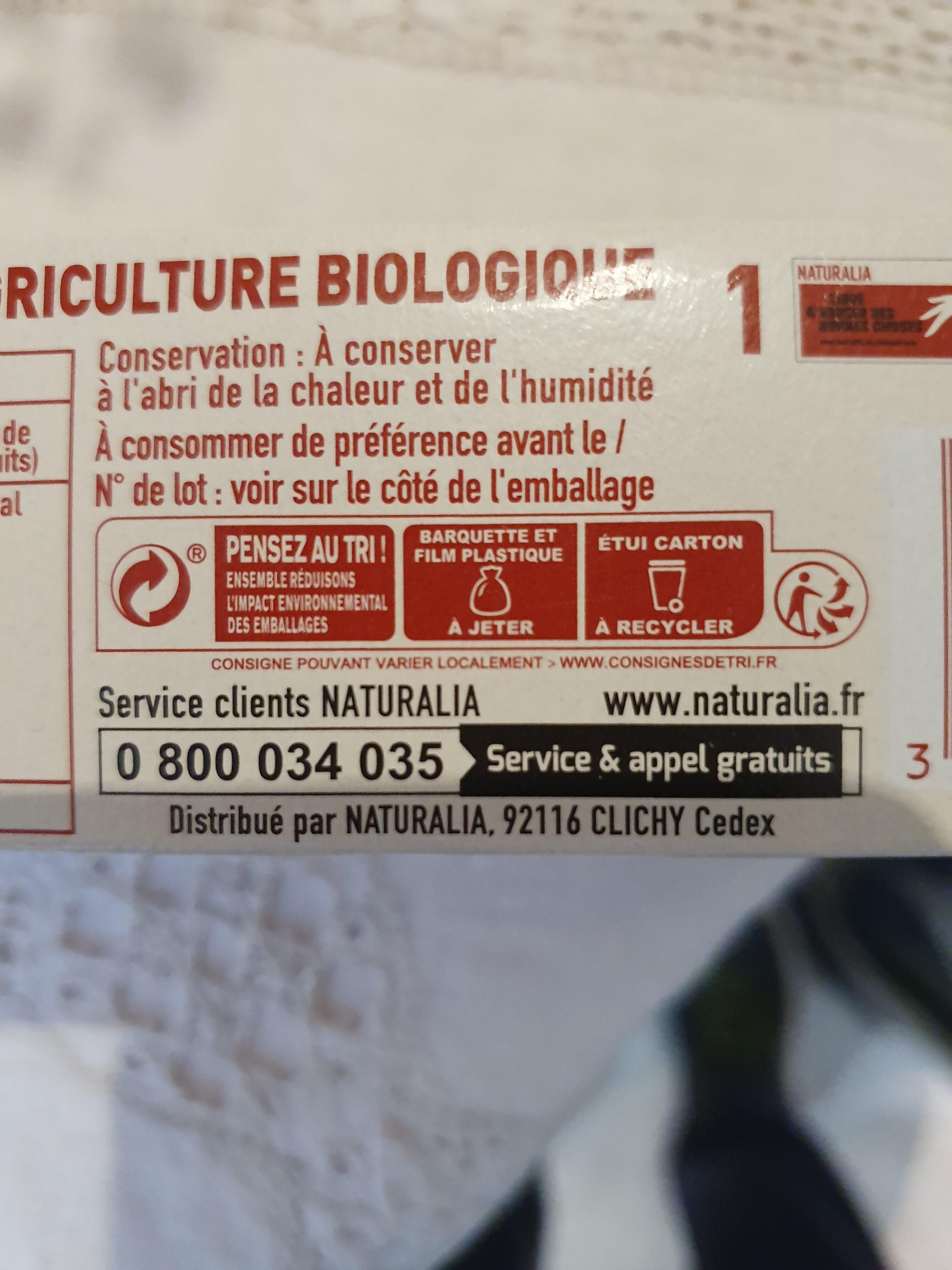 Petit beurre 48% de chocolat noir - Istruzioni per il riciclaggio e/o informazioni sull'imballaggio - fr