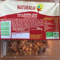 Salade Lentille Corail aux raisins secs - Product