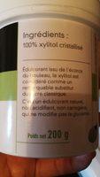 Puree d'amandes completes - Ingredienti - fr