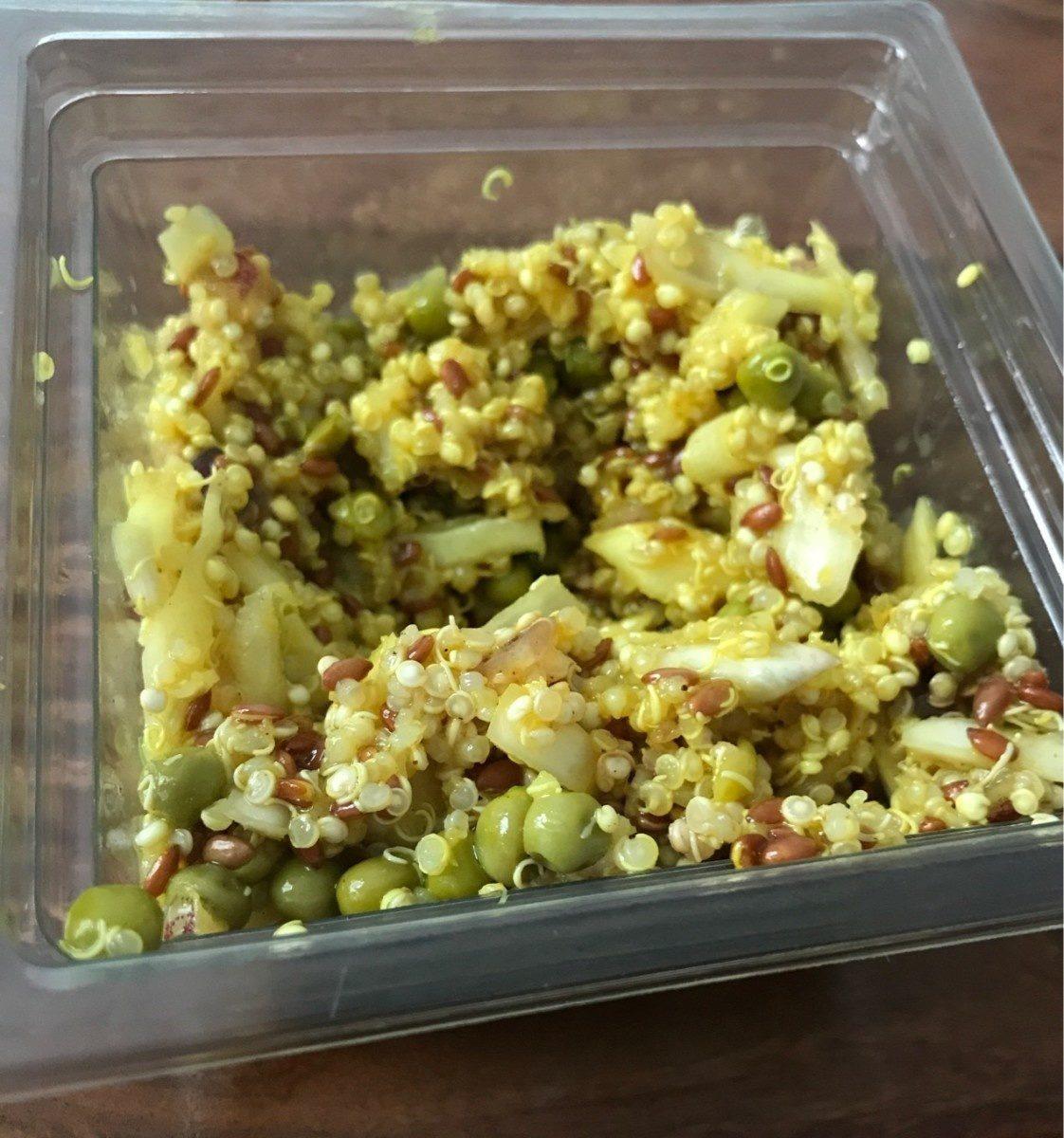 Salade de quinoa, chou et graines de lin - Producte