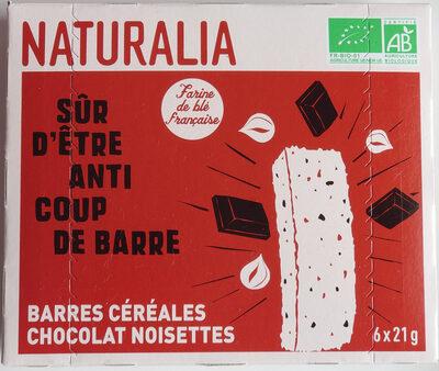 Barres céréales chocolat noisettes - Product - fr