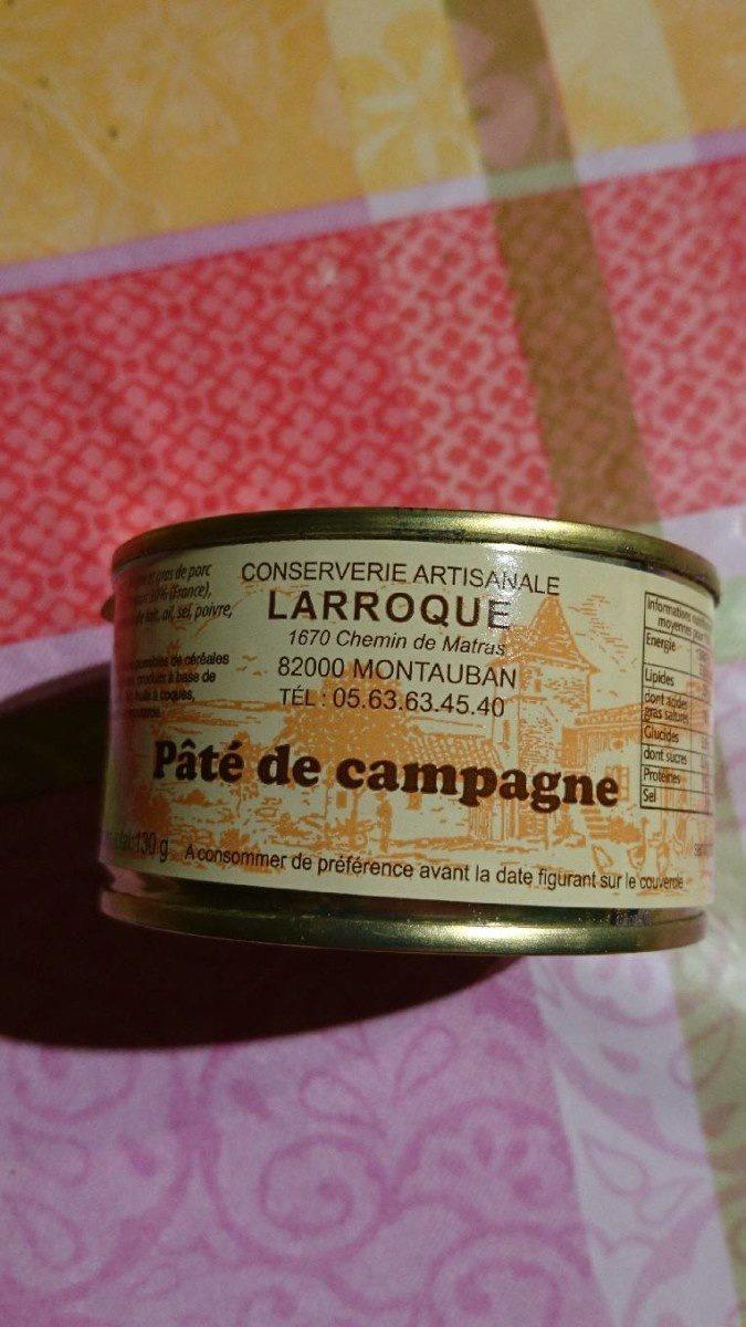 Pâte de campagne - Produit - fr