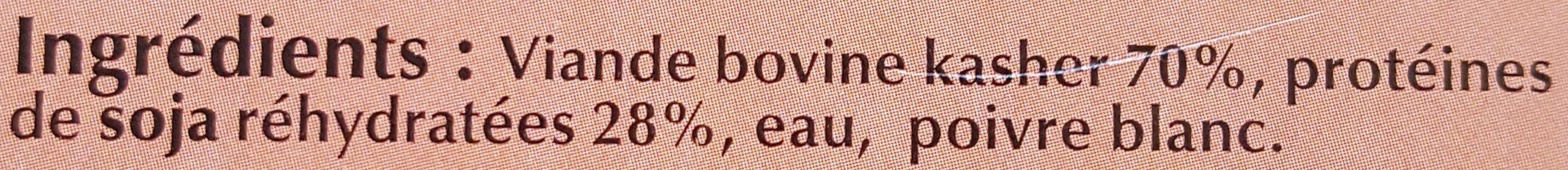 Boulettes au Bœuf - Ingrédients - fr