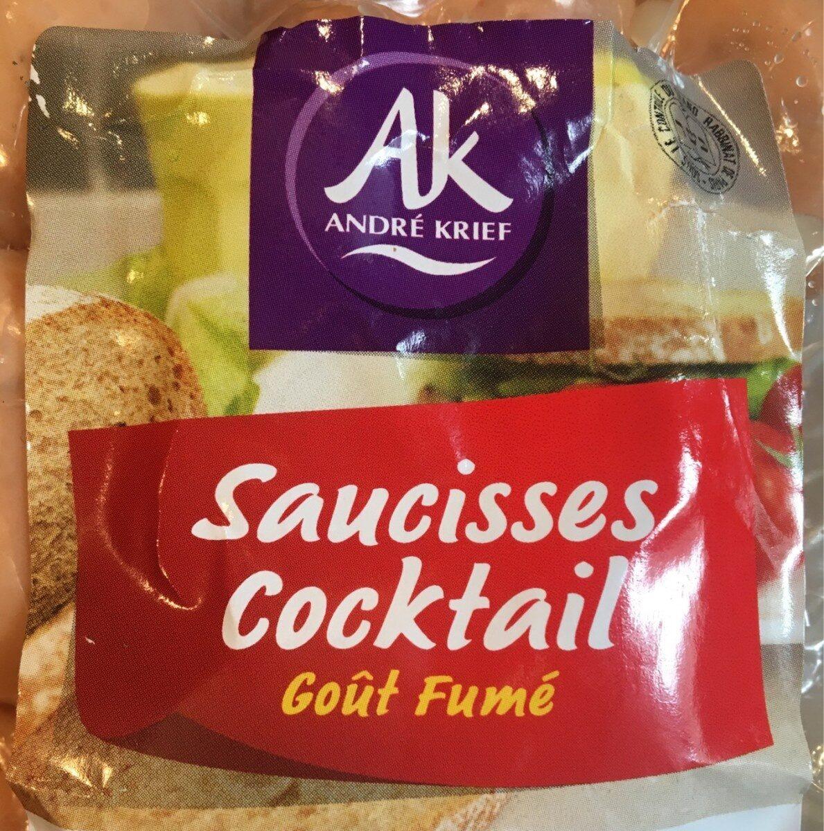 Saucisses cocktail gout fumé - Produit - fr