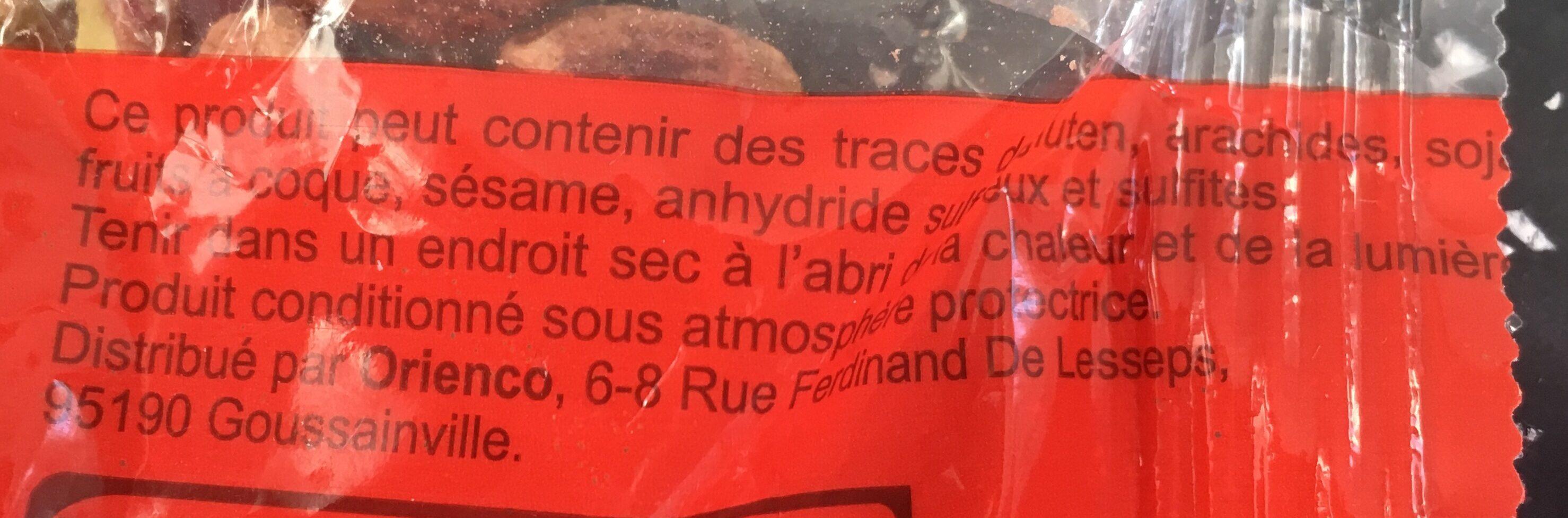 Pistaches crues (non salées) - Ingrédients - fr