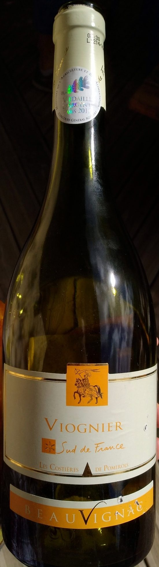Beauvignac Pays d'Oc Viognier 2011 - Product - fr