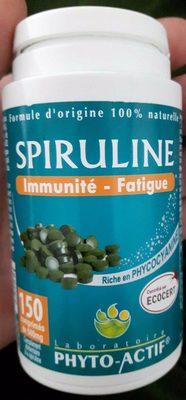 Spiruline Bio 100% Naturelle 150 Comprimés Phyto-actif - Produkt - fr