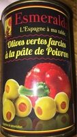 Olives veertes farcies - Product - fr
