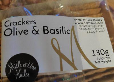 Crackers Olive & Basilic - Produit - fr