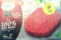 Steaks hachés surgelés Le 100% pur Boeuf - Produit
