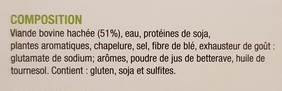 Burger à l'oignon Isla - Ingrediënten - fr