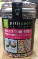 Decors mini billes - Product
