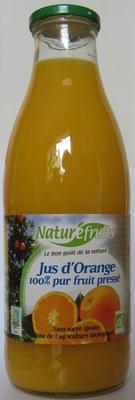 jus d 39 orange 100 pur fruit press naturefruits 1 l. Black Bedroom Furniture Sets. Home Design Ideas