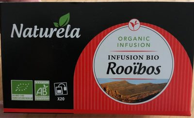 Infusion bio rooibos - Product - fr