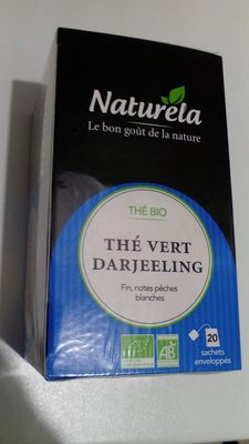 Thé vert darjeeling bio - Product - fr