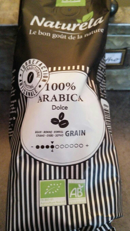Café Pur Arabica en grains - Voedingswaarden - fr