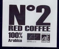 RED COFFEE N°2 - Ingrédients - fr