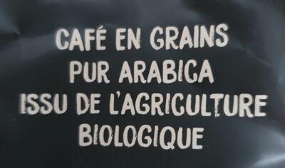 Café Bio En Grains - Ingrediënten - fr