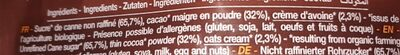 Instant choco - Ingrédients - fr