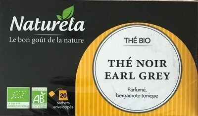 Thé Noir Earl Grey - Product - fr