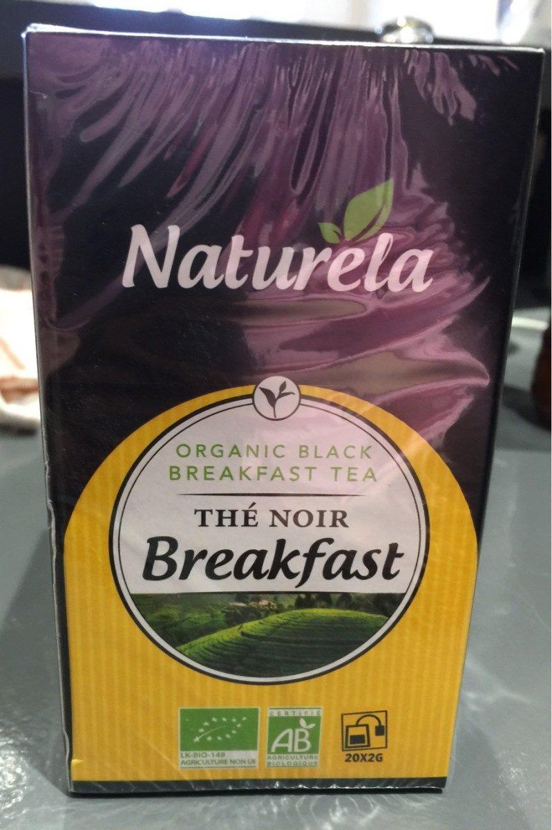 Thé noir Breakfast - Product - fr