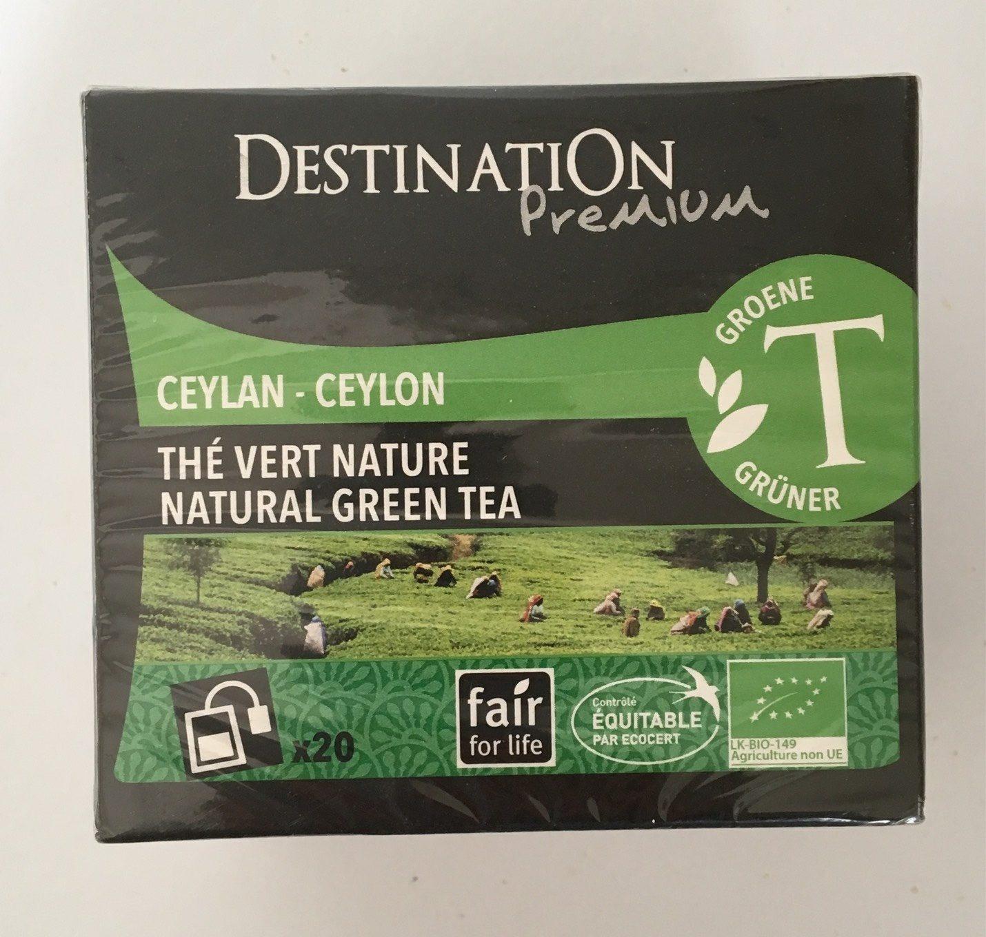 Destination Prémium - Thé Vert Nature - Product - fr