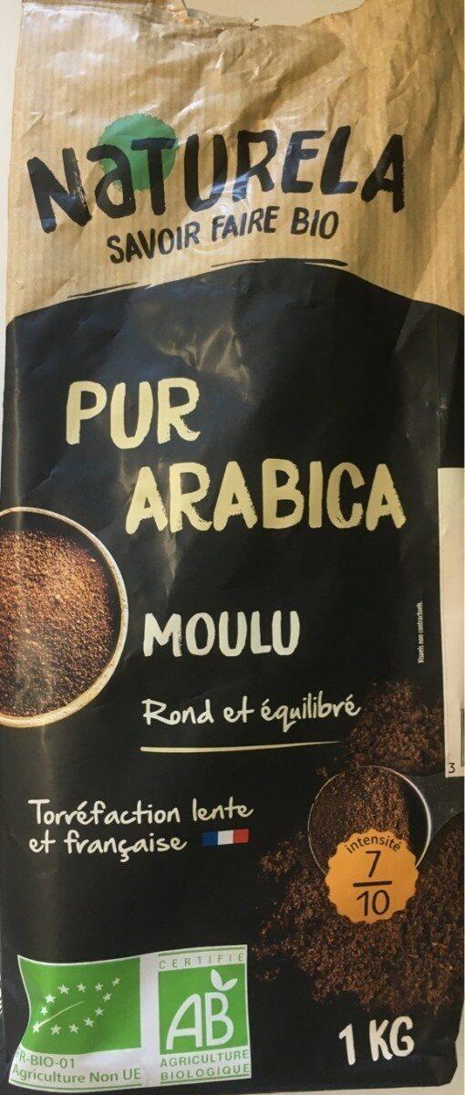Cafe moulu bio pur arabica - Product - fr