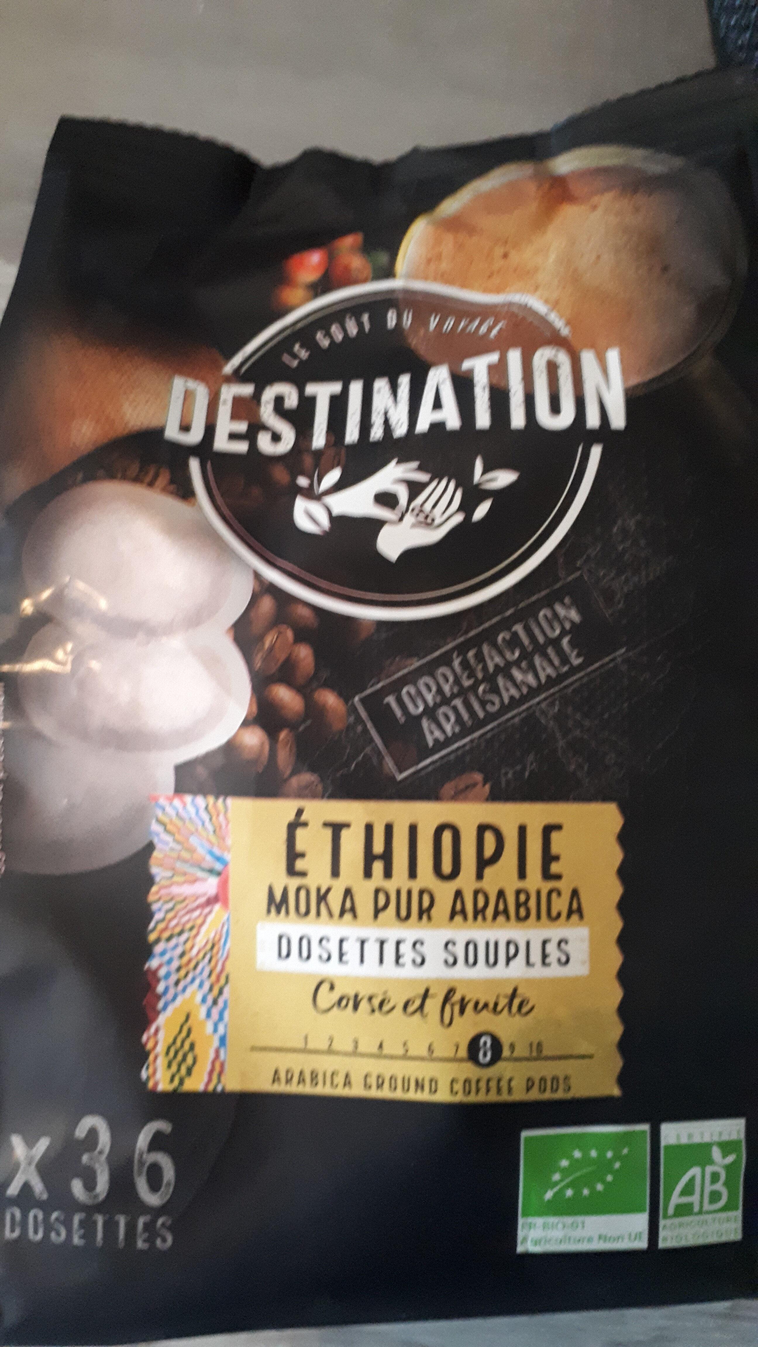 DOSETTES SOUPLES MOKA ETHIOPIE - Product - fr