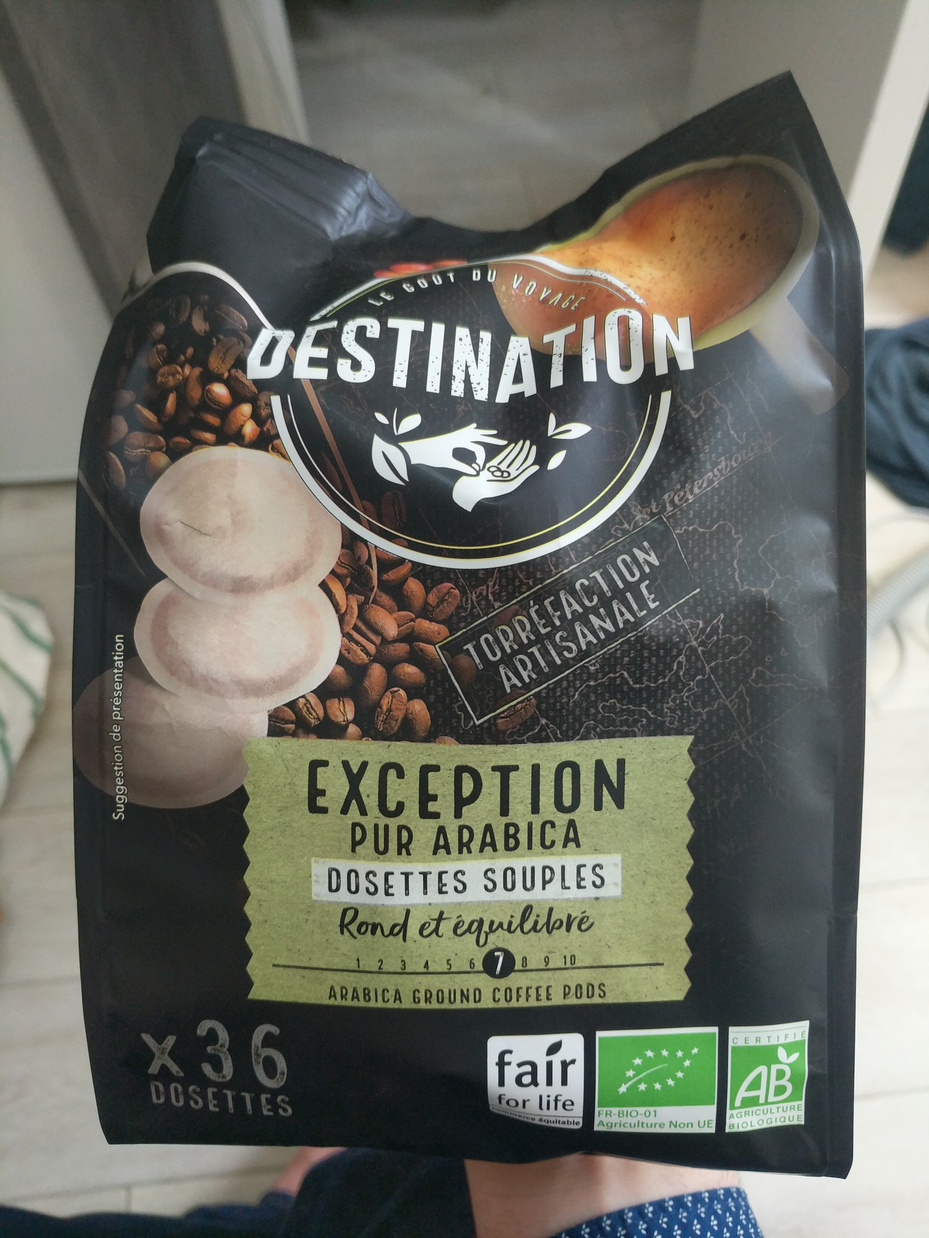 Dosettes Cafe Pur Arabica - Product - fr
