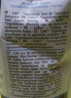 Exception 100% Arabica - Ingrediënten
