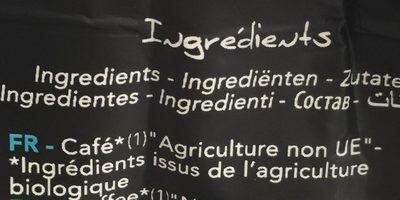 Dosettes Décaféiné 100% Arabica 24 - Ingrediënten - fr