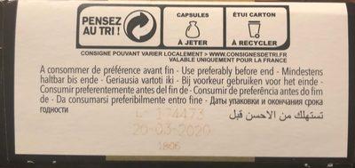 Epicerie / Boissons Et Vins / Café Bio Et équitable - Ingrédients