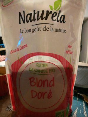 Sucre de canne bio Blond doré - Product - fr