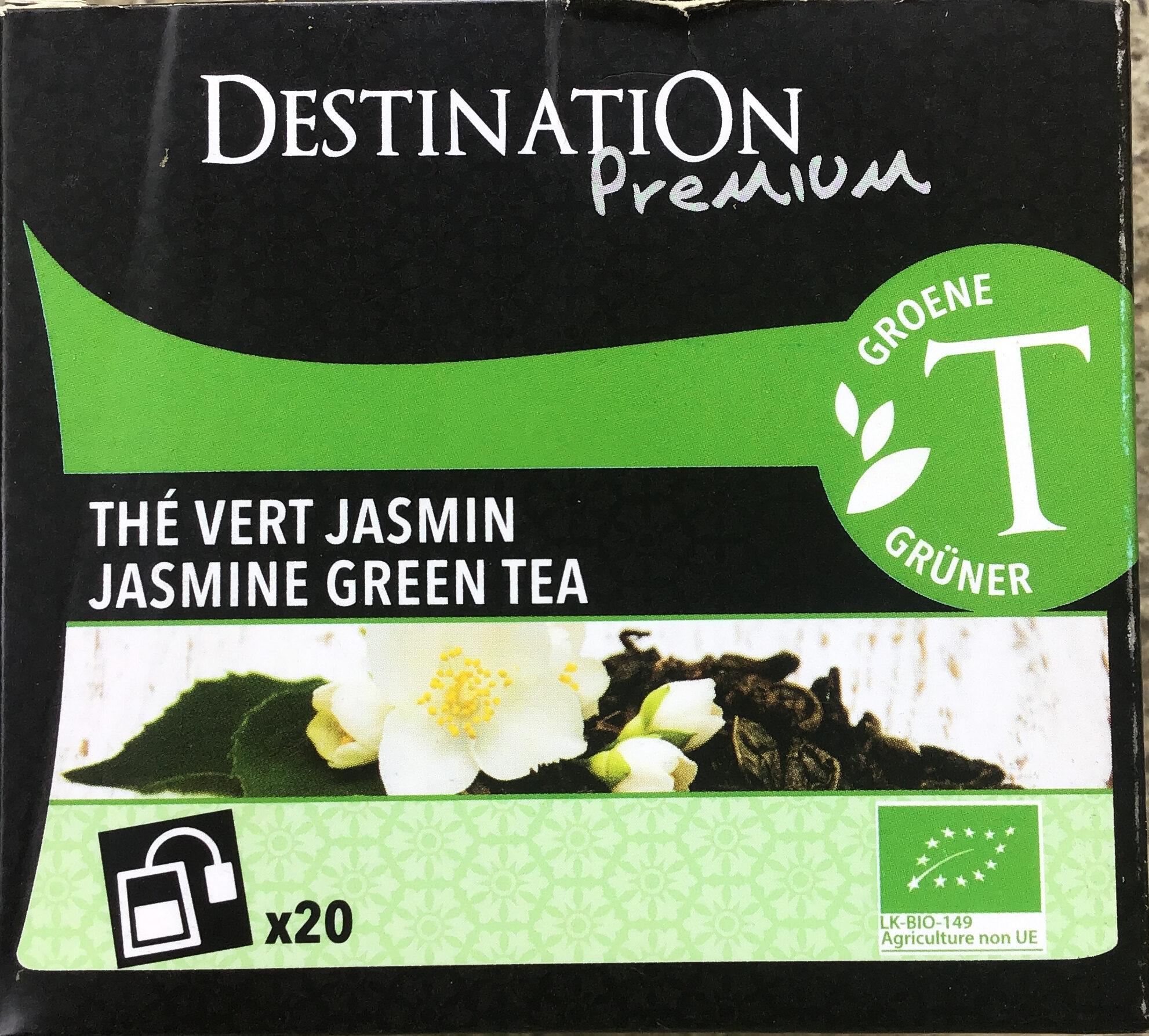 Thé vert jasmin - Product - fr