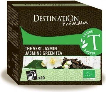 Thé Vert De Chine Au Jasmin Bio - 20 Sachets - Destination Bio - Product - fr