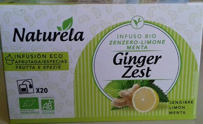 Ginger zest - Product - fr