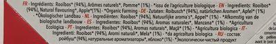 Pomme d'Amour - Ingrediënten