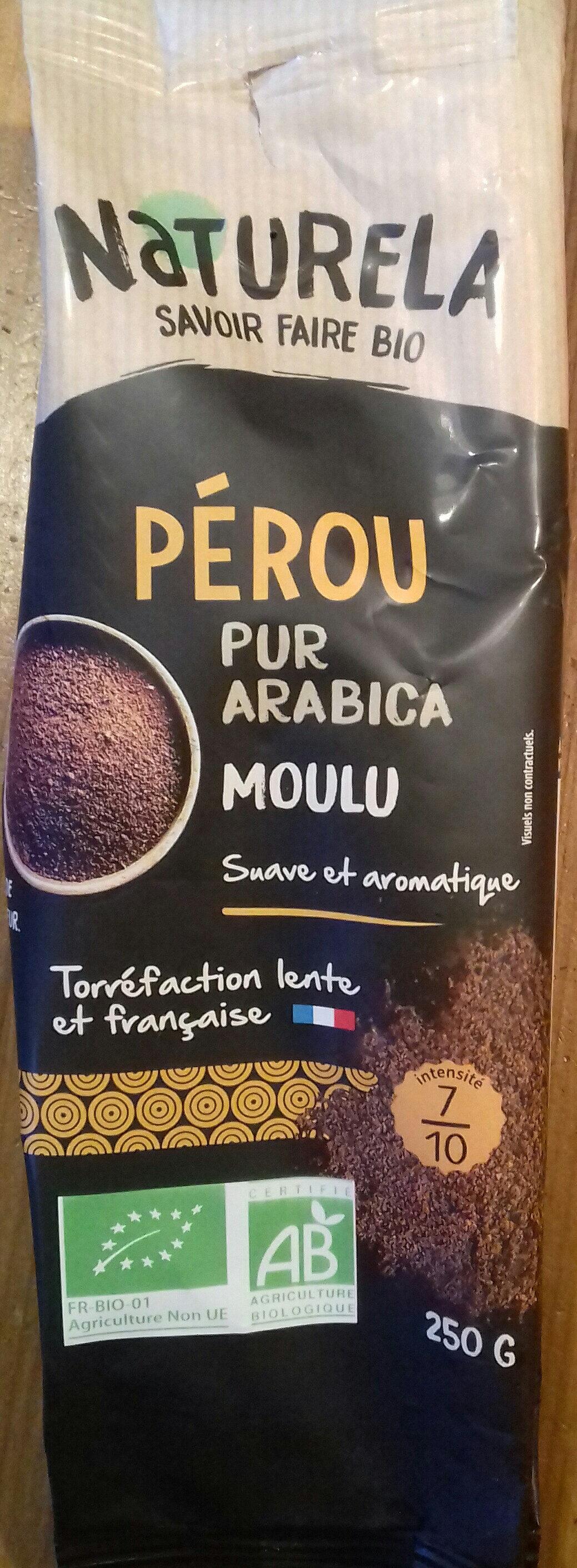 Café Pérou pur arabica moulu - Prodotto - fr