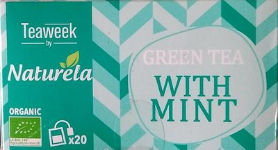 Green tea with mint - Product - fr