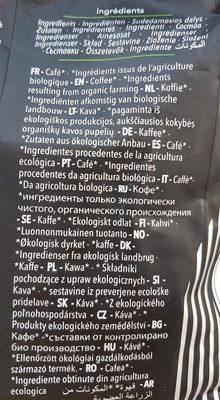 Spécial Expresso - Ingrediënten - fr