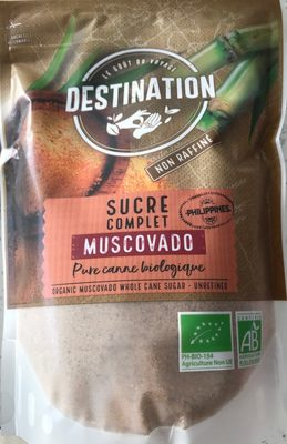 Sucre complet Muscovado - Product - fr